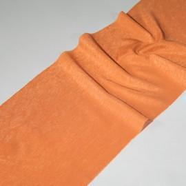 KUPON: 2,30 mb. Tkanina Shantung 150cm - pomarańczowy
