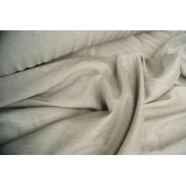 KUPON: 3,90 mb. Tkanina Shantung 150cm - siwy