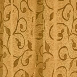 Tkanina dekoracyjna ESY-FLORESY ciemne złoto